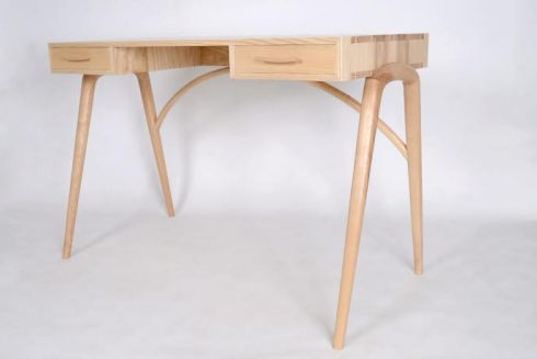 James' most recent project, a desk.